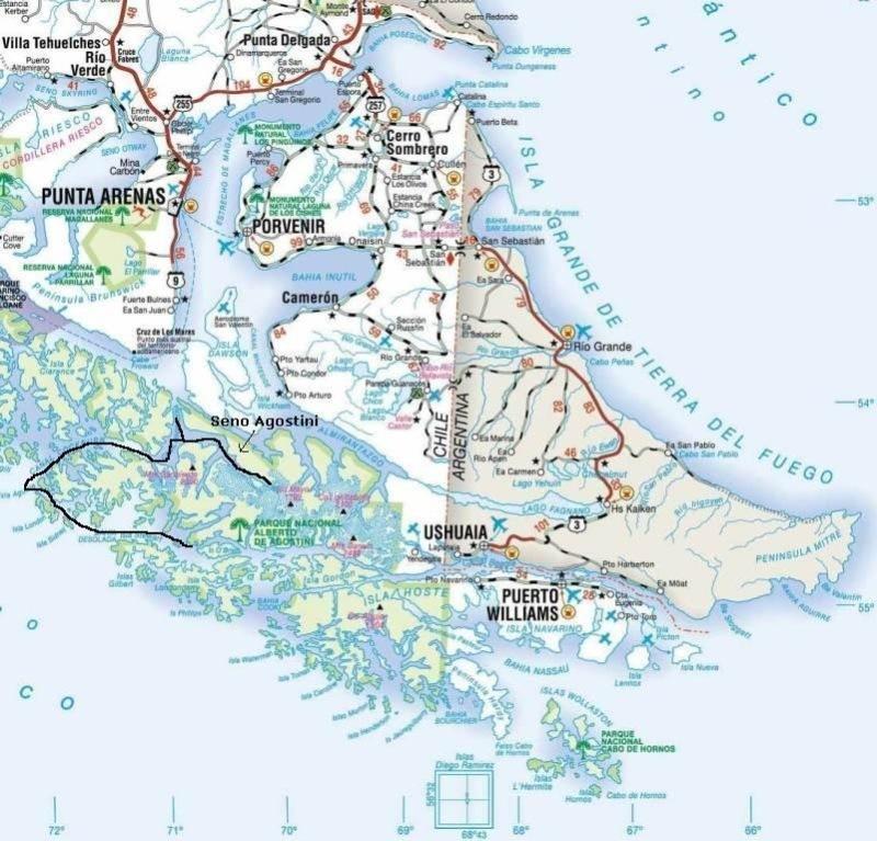 """Crociera 2007 - """"Terra del Fuoco"""" con Costa Romantica - navigazione (17 di 29)"""