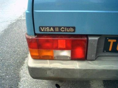 Citroen Visa II 650 Club