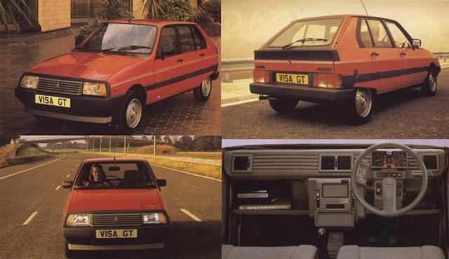 La storia della Citroën Visa (5/6)