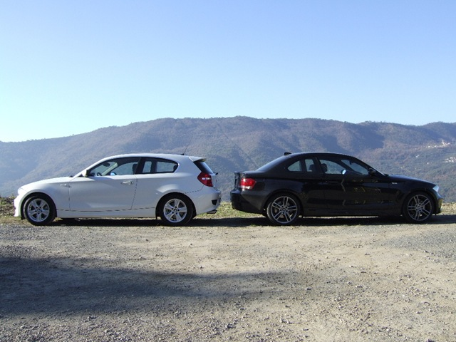 BMW Serie 1 E81 3 porte vs BMW Serie 1 E82 Coupé