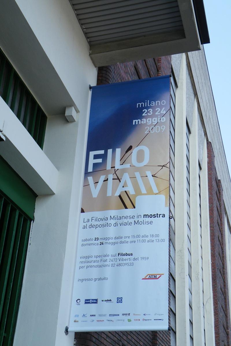 """""""FILOVIA"""": La filovia milanese in mostra al deposito di viale Molise (1 di 2)"""