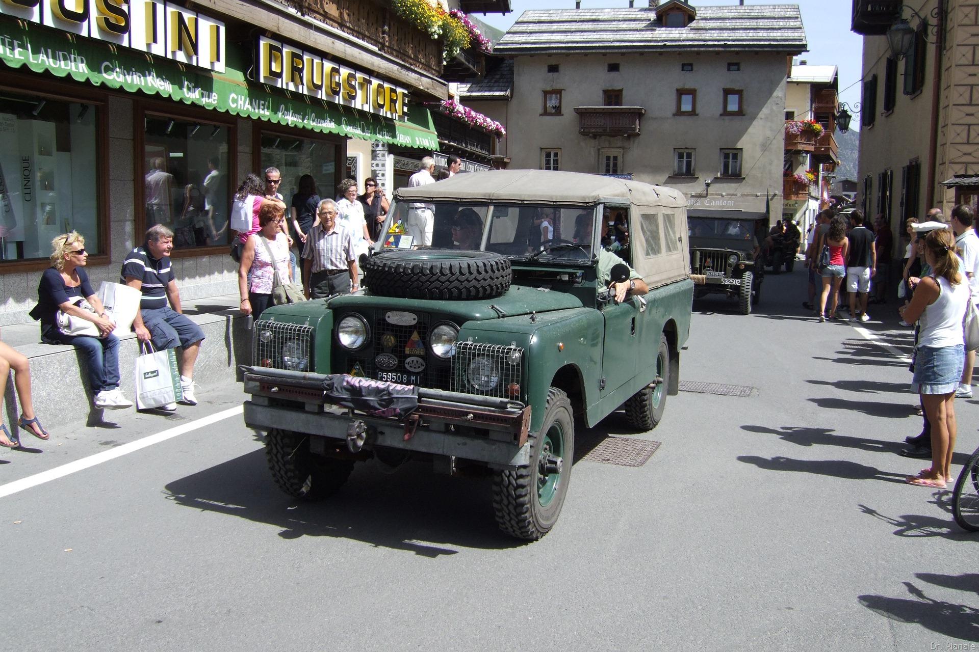militari storici a Livigno