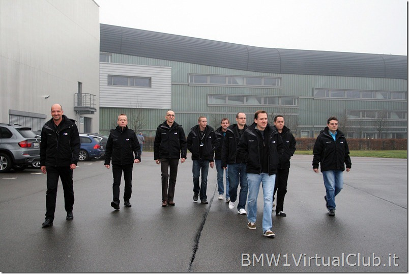 BMW Serie 1 M Coupe - 04 - Alle auto in gruppo