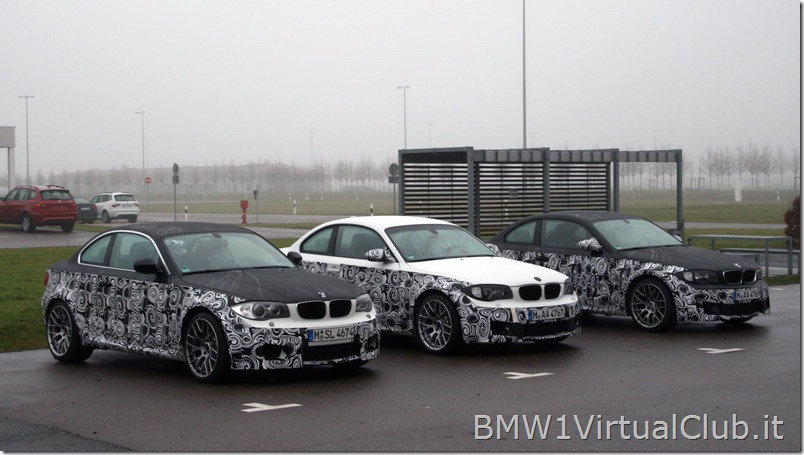BMW Serie 1 M Coupe - 05 - Le auto in attesa