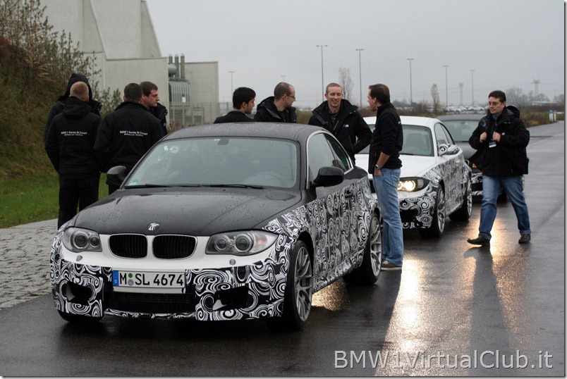 BMW Serie 1 M Coupe - 11 - Prima del test in pista