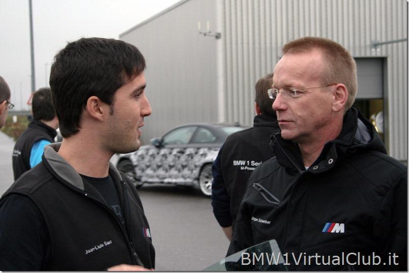 BMW Serie 1 M Coupe - 24 -Discussione con il pilota Motorsport