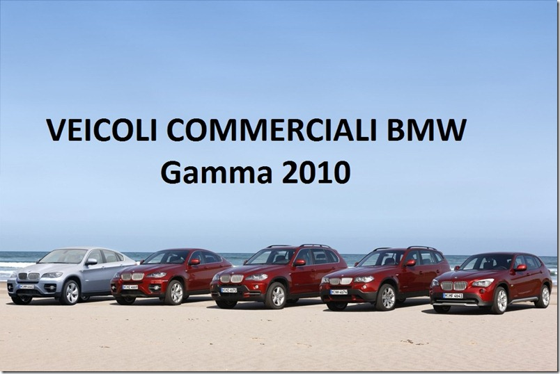 The BMW X Family: BMW ActiveHybrid X6, BMW X6, BMW X5, BMW X3 and BMW X1 (02/2010)