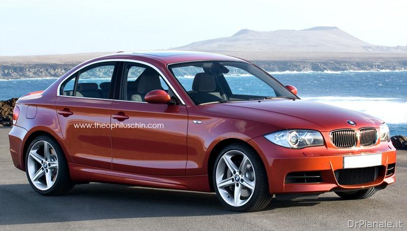 BMW Serie 1 berlina 4 porte / BMW 1er sedan