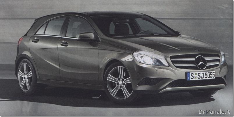 Mercedes Classe A anteriore