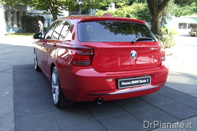 Presentazione BMW Serie 1 F20 a Monza - Sport Line