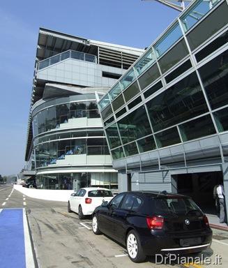 Presentazione BMW Serie 1 F20 - La prova in pista a Monza