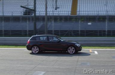 Presentazione BMW Serie 1 F20 - La prova in pista a Monz