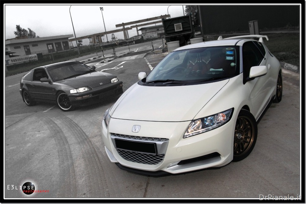 Honda CR-Z vs Honda CR-X (3/4)