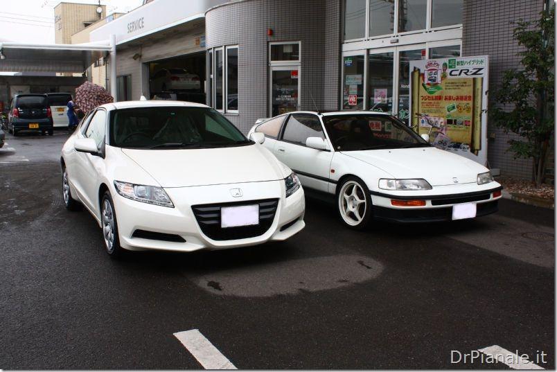 Honda CR-Z vs Honda CRX 1