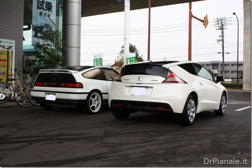Honda CR-Z vs Honda CRX 2