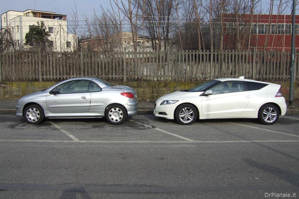 Peugeot 206 CC vs Honda CRZ 1
