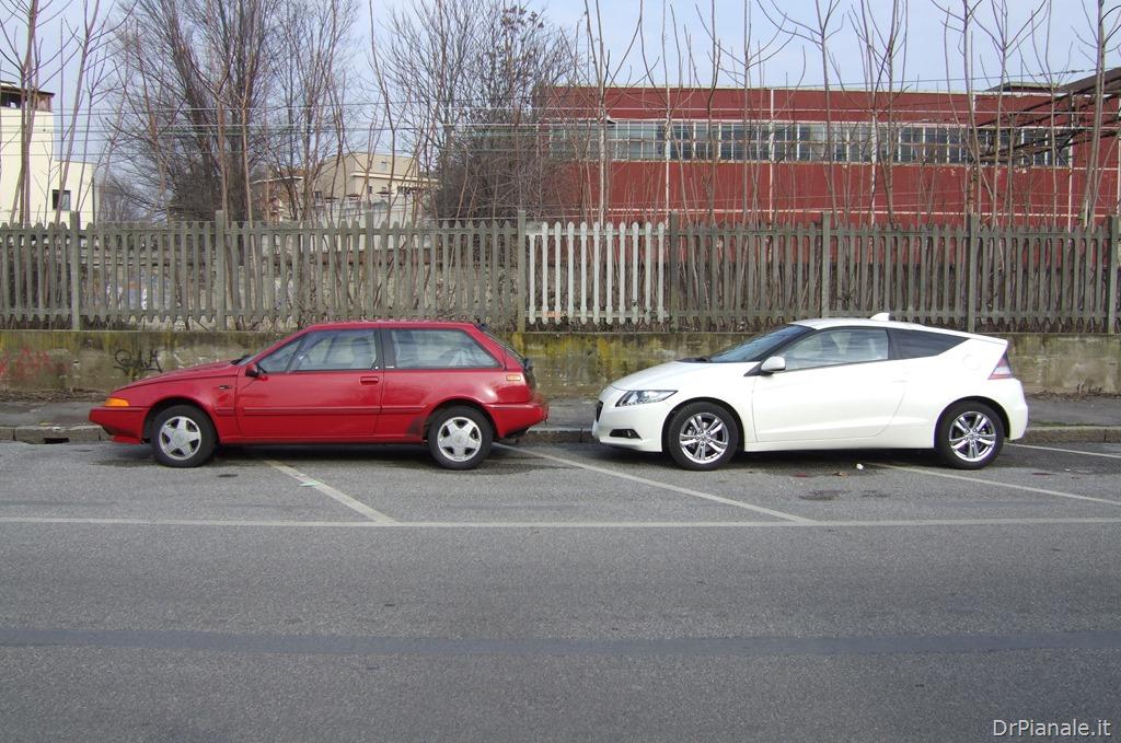 Volvo 480 vs Honda CRZ 1