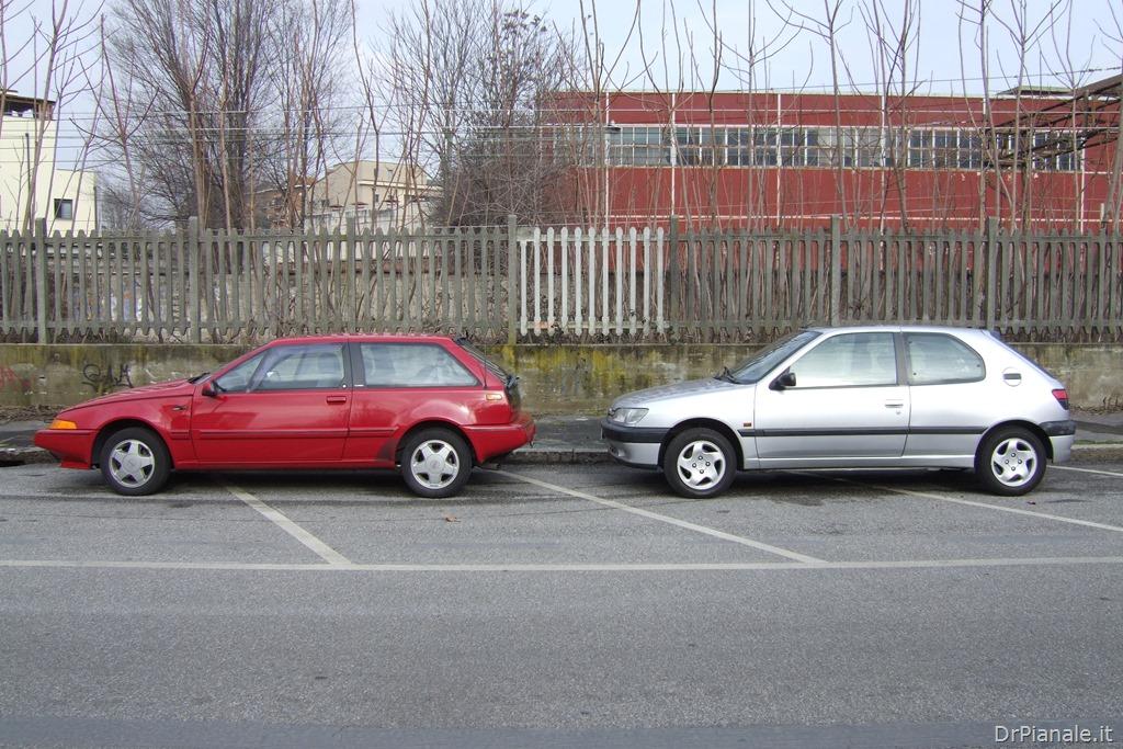 Volvo 480 vs Peugeot 306 1
