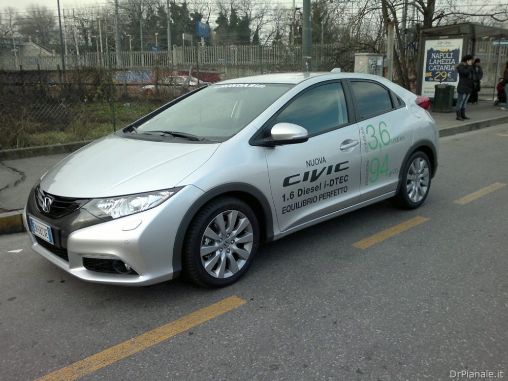 Presentazione e prova Honda Civic 1.6 diesel i-DTEC (1/2)