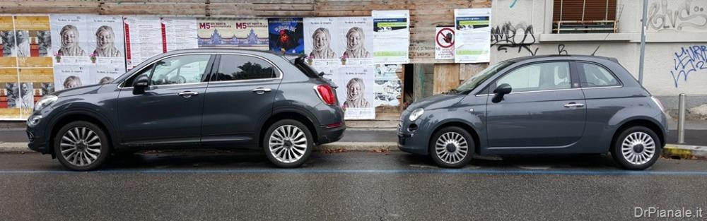 Fiat 500X vs 500